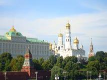Vista de la Moscú Kremlin foto de archivo