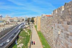 Vista de la nueva Jerusalén Imagen de archivo libre de regalías
