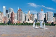 Vista de la Nueva York foto de archivo libre de regalías