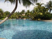 Vista de la piscina Foto de archivo