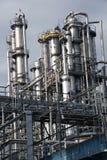 Vista de la planta para el aceite refinador Foto de archivo