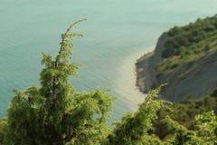 Vista de la playa Imagenes de archivo