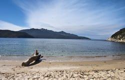 Playa de Forno Fotografía de archivo