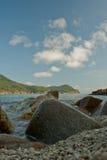Vista de la playa de la isla del redang Foto de archivo libre de regalías