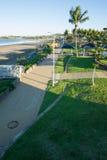 Vista de la playa de Yeppoon Fotos de archivo