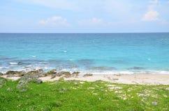 Vista de la playa del sur de Taiwán Fotografía de archivo libre de regalías