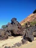Vista de la playa famosa del Pipa - para el web foto de archivo libre de regalías