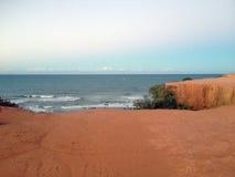 Vista de la playa famosa del Pipa - para el web imagenes de archivo