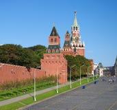 Vista de la Plaza Roja con la pendiente de Vasilevsky en Moscú, Rusia Fotos de archivo