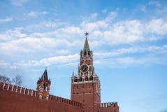 Vista de la Plaza Roja en el amanecer Foto de archivo libre de regalías