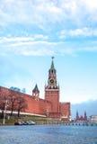 Vista de la Plaza Roja en el amanecer Fotos de archivo libres de regalías