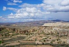 Vista de la primavera Cappadocia imagen de archivo libre de regalías
