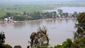 Vista de la provincia de la provincia de Dak Lak metrajes