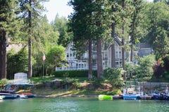 Vista de la punta de flecha del lago en California Fotografía de archivo libre de regalías