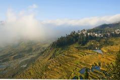 Vista de la terraza Imagen de archivo libre de regalías