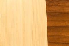 Vista de la textura de madera fotografía de archivo libre de regalías