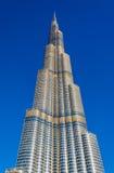 Vista de la torre de Burj Khalifa en Dubai Fotografía de archivo libre de regalías
