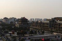 Vista de la torre del tambor de Xian - imagen foto de archivo libre de regalías