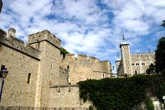 Vista de la torre (Londres) fotografía de archivo libre de regalías
