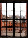 Vista de la vecindad Fotografía de archivo libre de regalías