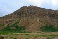 Vista de las altiplanicies y de los acantilados Fotografía de archivo