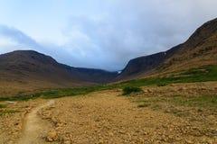 Vista de las altiplanicies y de los acantilados Imagen de archivo libre de regalías