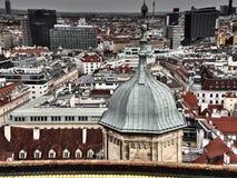 Vista de las calles de Viena imagen de archivo