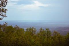 Vista de las montañas fotos de archivo libres de regalías