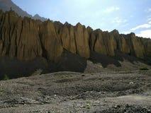 Vista de las montañas imagenes de archivo