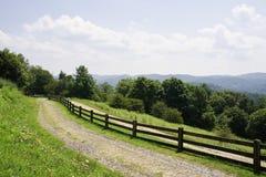 Vista de las montañas del NC imagen de archivo libre de regalías