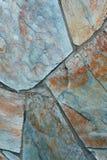 Vista de las texturas de piedra Foto de archivo libre de regalías
