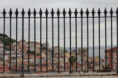 Vista de Lisboa Imagen de archivo libre de regalías