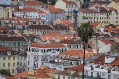Vista de Lisboa Imágenes de archivo libres de regalías