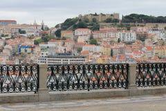 Vista de Lisboa Foto de archivo