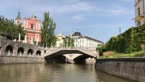 Vista de Ljubljana céntrica