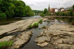 Vista de Llangollen, Reino Unido Imagenes de archivo