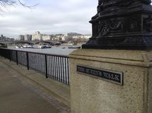 Vista de Londres del banco del sur Imágenes de archivo libres de regalías