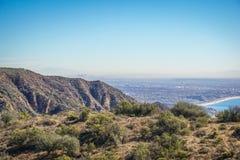 Vista de Los Ángeles de Santa Monica Conservancy Fotos de archivo