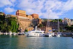 Puerto de Sorrento Fotografía de archivo libre de regalías