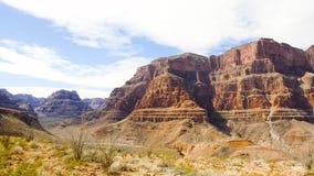 Vista de los acantilados del Gran Cañón metrajes