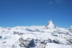 Vista de los alrededores Gornergratt Imagen de archivo libre de regalías