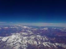 Vista de los Andes fotografía de archivo libre de regalías