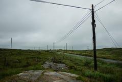 Vista de los campos de Connemara Foto de archivo libre de regalías