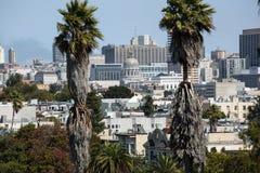 Vista de los edificios de San Francisco Foto de archivo