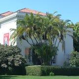 Vista de los jardines botánicos de Huntington Imagen de archivo