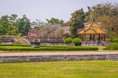 Vista de los jardines en la ciudad imperial de la tonalidad Fotos de archivo