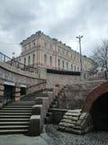 vista de los pasos y del palacio fotos de archivo