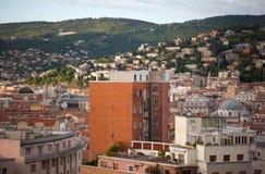 Vista de los tejados de Trieste Fotos de archivo