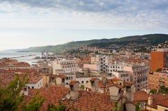 Vista de los tejados de Trieste Fotos de archivo libres de regalías