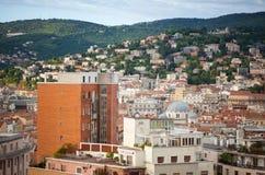 Vista de los tejados de Trieste Imagen de archivo